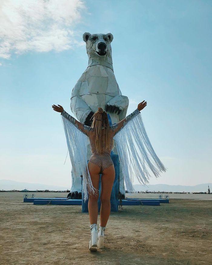 Les meilleures photos du Burning Man 2018 et ses créations grandioses 26
