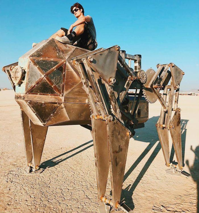Les meilleures photos du Burning Man 2018 et ses créations grandioses 27