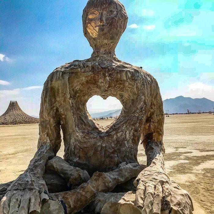 Les meilleures photos du Burning Man 2018 et ses créations grandioses 29