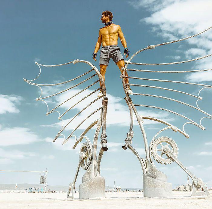 Les meilleures photos du Burning Man 2018 et ses créations grandioses 4