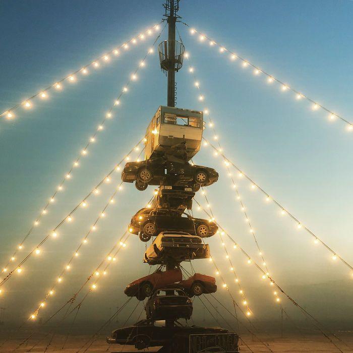Les meilleures photos du Burning Man 2018 et ses créations grandioses 31