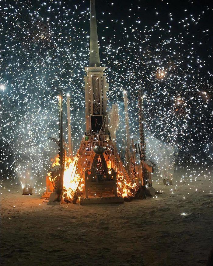 Les meilleures photos du Burning Man 2018 et ses créations grandioses 33