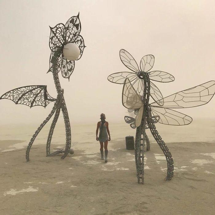 Les meilleures photos du Burning Man 2018 et ses créations grandioses 34