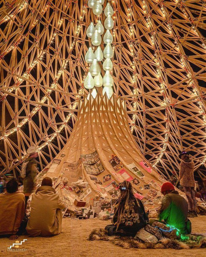 Les meilleures photos du Burning Man 2018 et ses créations grandioses 35