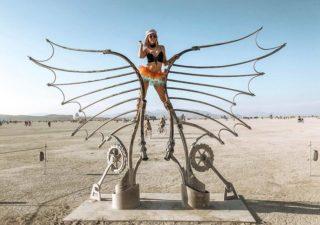 Les meilleures photos du Burning Man 2018 et ses créations grandioses 1