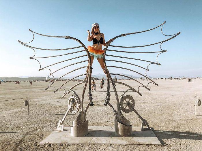 Les meilleures photos du Burning Man 2018 et ses créations grandioses 36