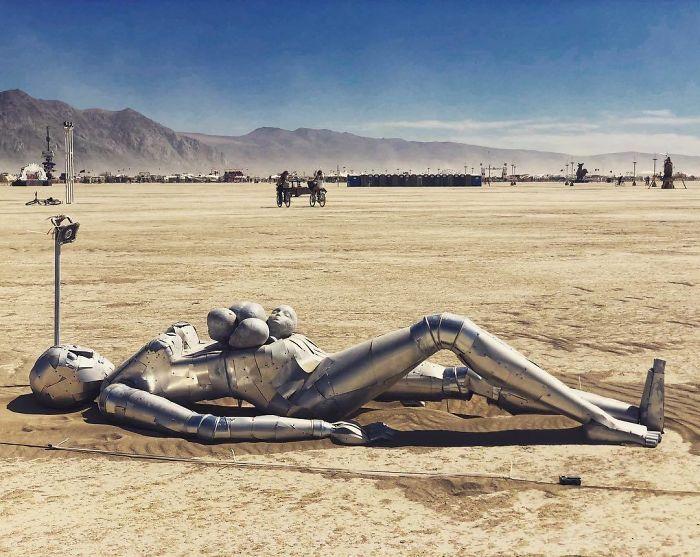 Les meilleures photos du Burning Man 2018 et ses créations grandioses 37