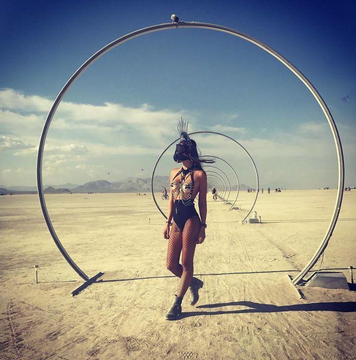 Les meilleures photos du Burning Man 2018 et ses créations grandioses 38
