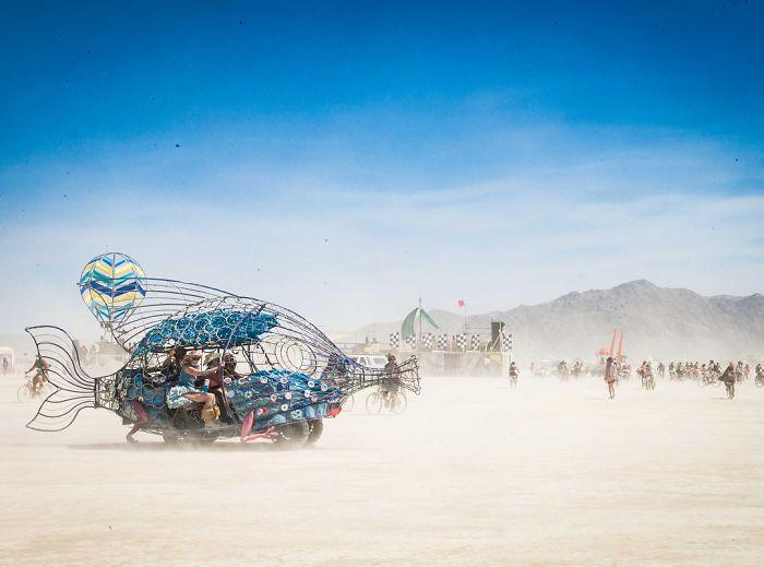Les meilleures photos du Burning Man 2018 et ses créations grandioses 39