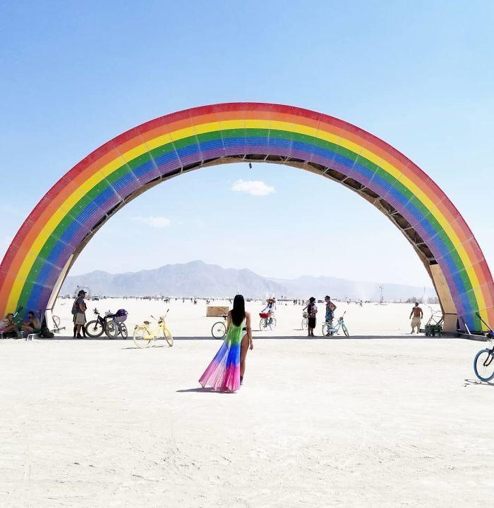 Les meilleures photos du Burning Man 2018 et ses créations grandioses 40