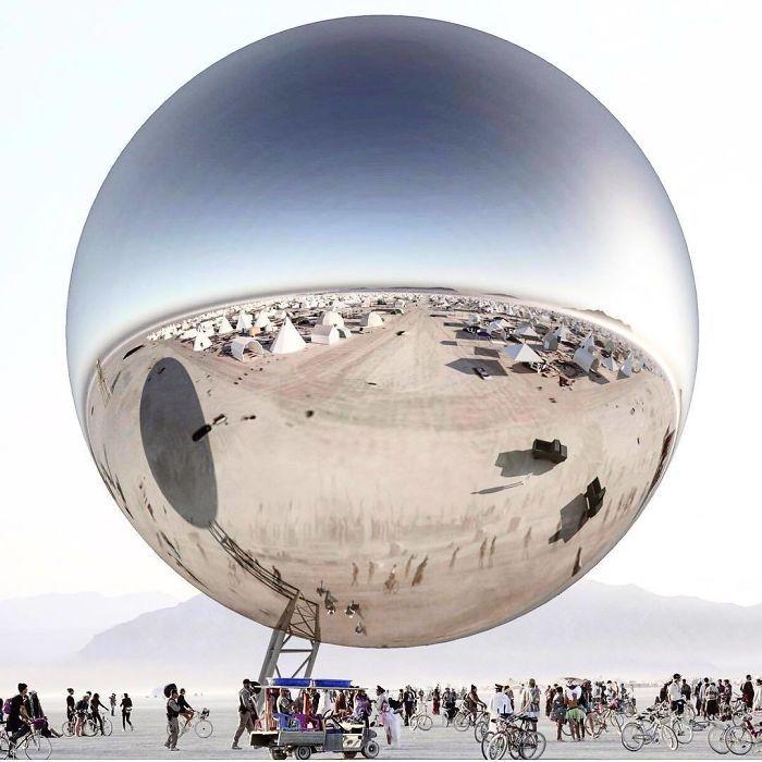 Les meilleures photos du Burning Man 2018 et ses créations grandioses 5