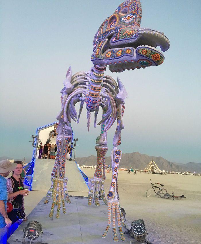 Les meilleures photos du Burning Man 2018 et ses créations grandioses 41