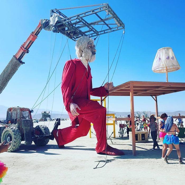 Les meilleures photos du Burning Man 2018 et ses créations grandioses 44