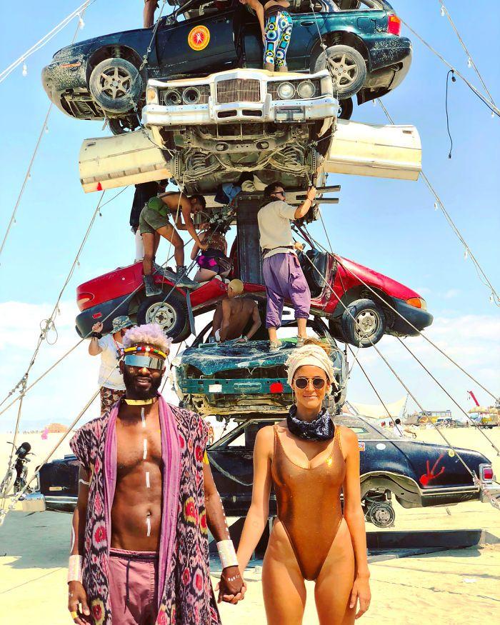 Les meilleures photos du Burning Man 2018 et ses créations grandioses 6