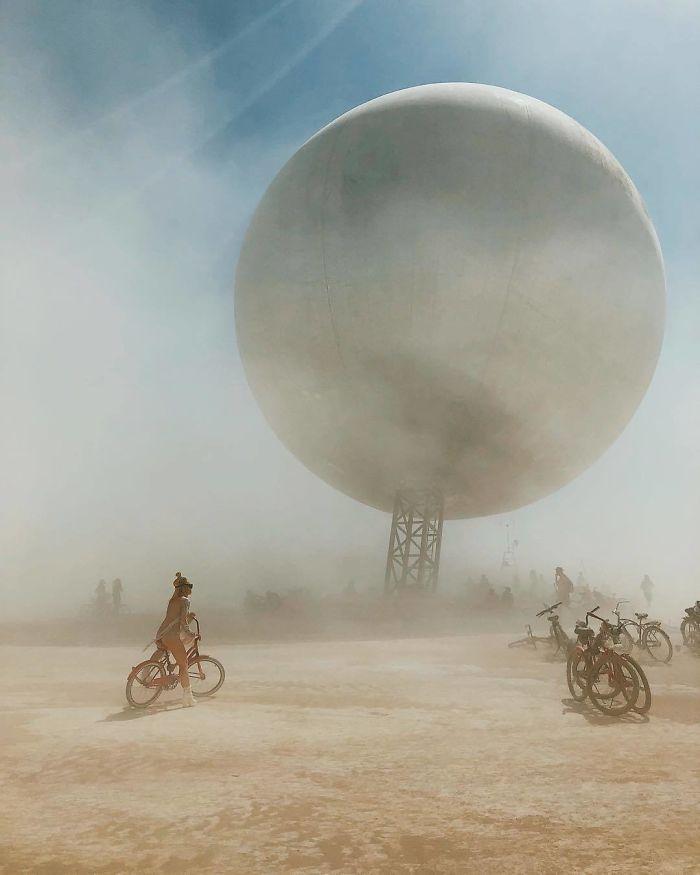 Les meilleures photos du Burning Man 2018 et ses créations grandioses 8