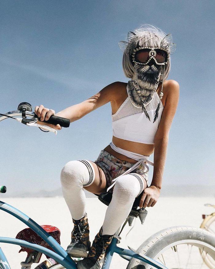 Les meilleures photos du Burning Man 2018 et ses créations grandioses 9