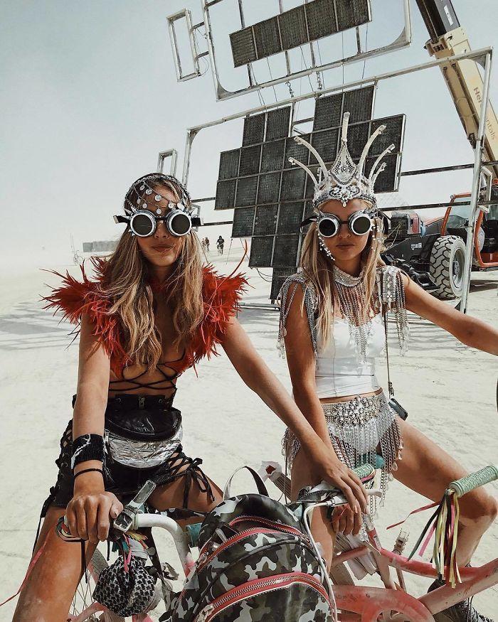 Les meilleures photos du Burning Man 2018 et ses créations grandioses 10