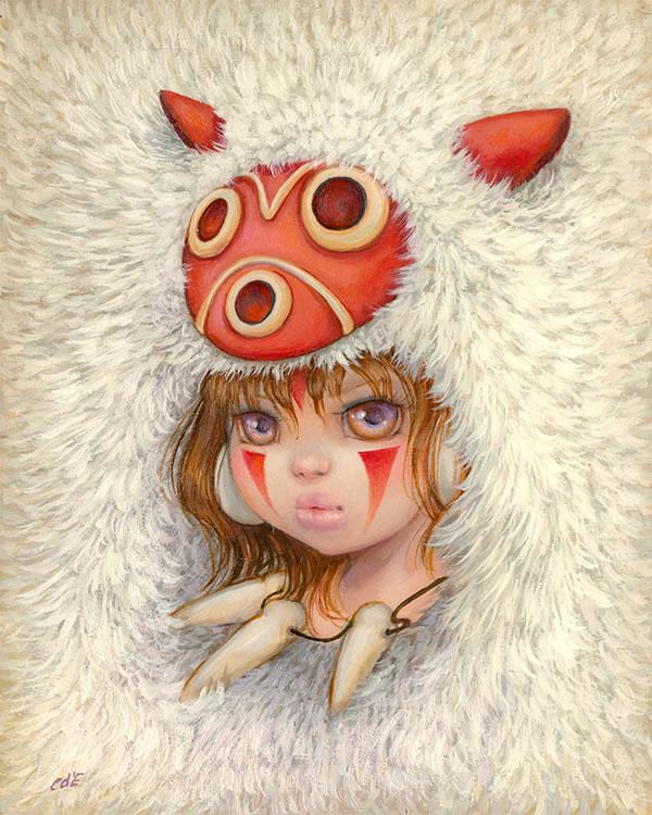 Exposition en hommage à Miyazaki. 50 artistes regroupés pour votre inspiration 4