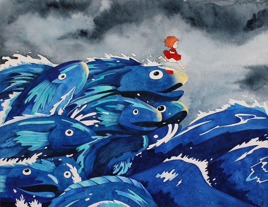 Exposition en hommage à Miyazaki. 50 artistes regroupés pour votre inspiration 7