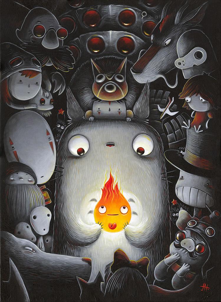 Exposition en hommage à Miyazaki. 50 artistes regroupés pour votre inspiration 8