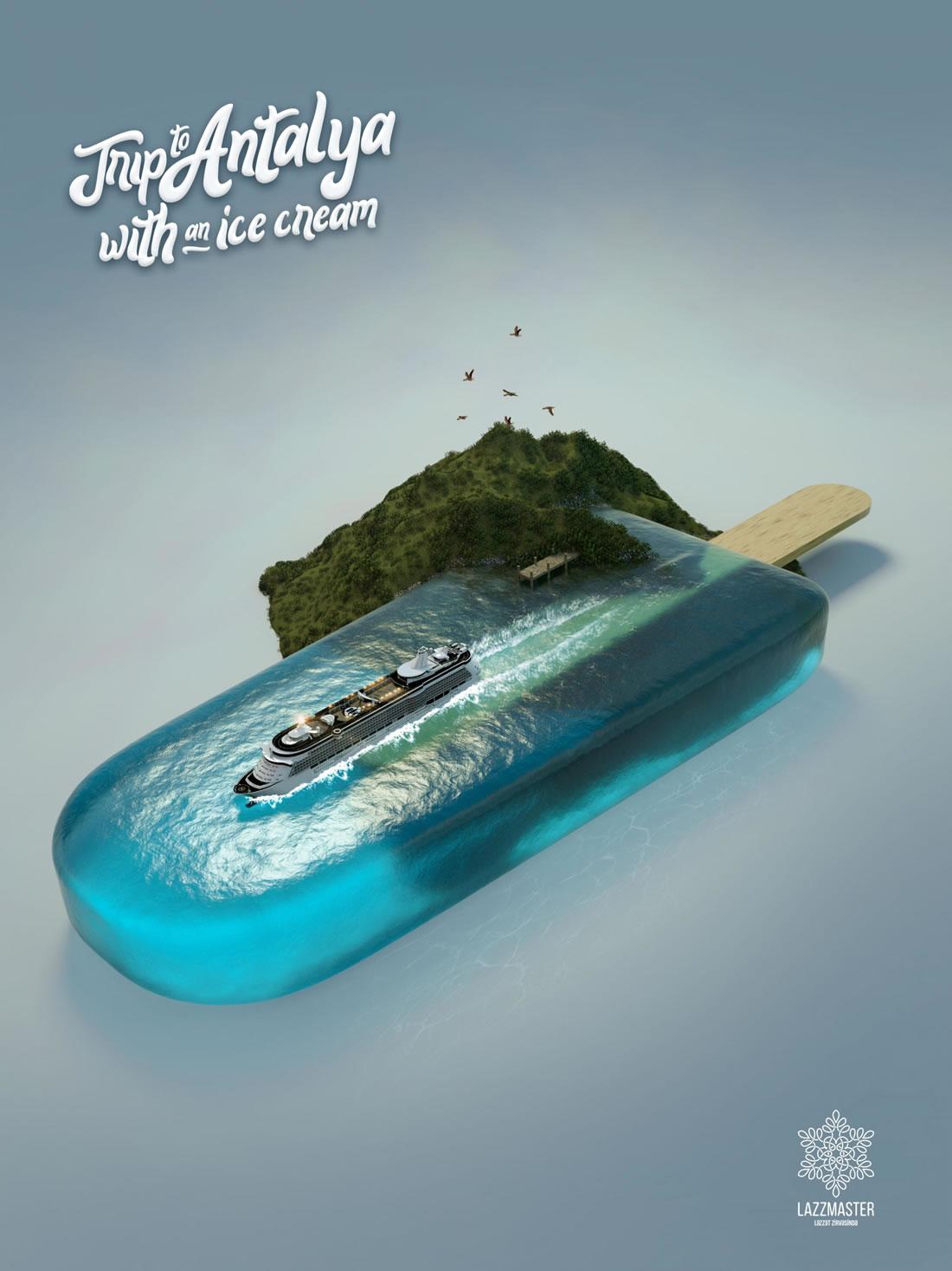 Inspiration – 130 Affiches Publicitaires Graphiques de Juillet et Août 2018 119