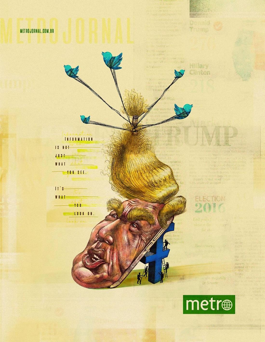 Inspiration – 130 Affiches Publicitaires Graphiques de Juillet et Août 2018 121