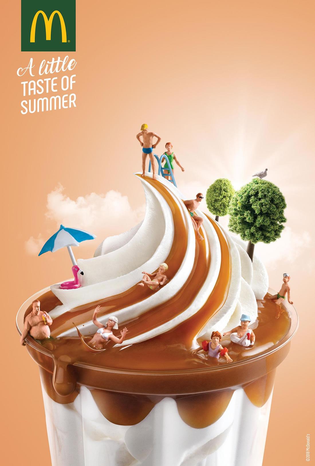 Inspiration – 130 Affiches Publicitaires Graphiques de Juillet et Août 2018 124