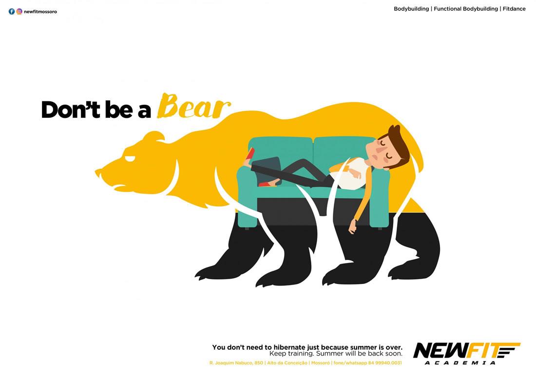 Inspiration – 130 Affiches Publicitaires Graphiques de Juillet et Août 2018 66