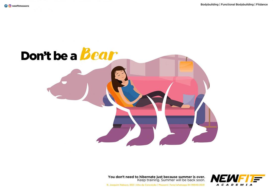 Inspiration – 130 Affiches Publicitaires Graphiques de Juillet et Août 2018 64