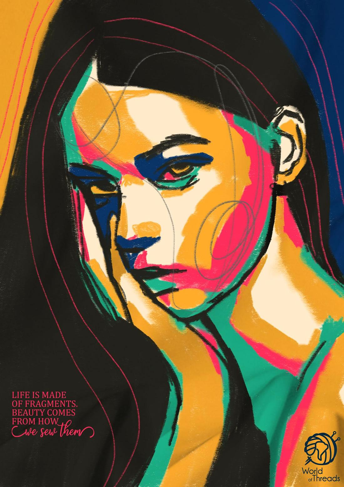 Inspiration – 130 Affiches Publicitaires Graphiques de Juillet et Août 2018 94