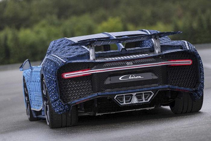 LEGO à construit une Bugatti Chiron avec 1 Million de pièces 4