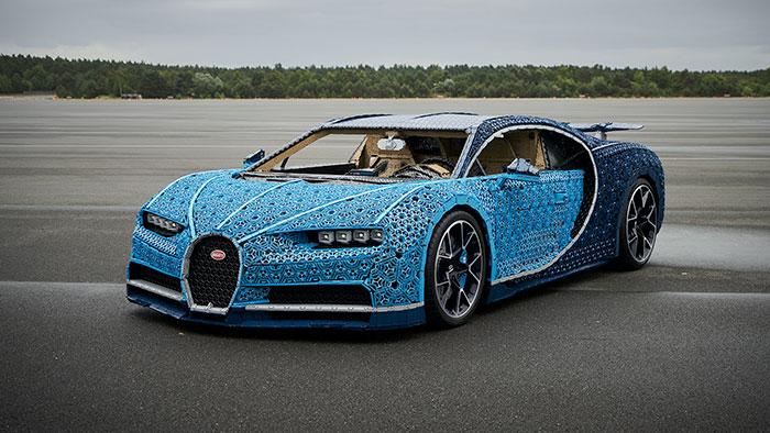 LEGO à construit une Bugatti Chiron avec 1 Million de pièces 5