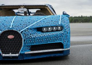 LEGO à construit une Bugatti Chiron avec 1 Million de pièces 1
