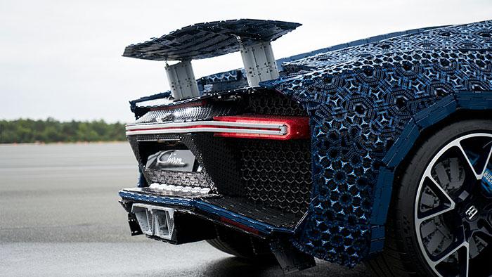 LEGO à construit une Bugatti Chiron avec 1 Million de pièces 7