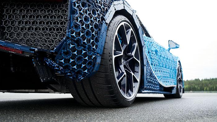 LEGO à construit une Bugatti Chiron avec 1 Million de pièces 8