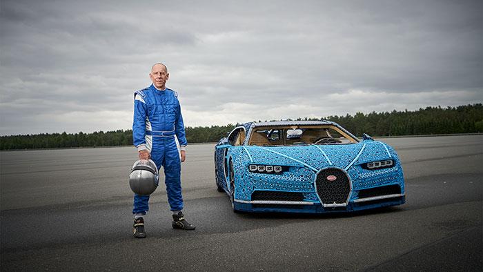 LEGO à construit une Bugatti Chiron avec 1 Million de pièces 9