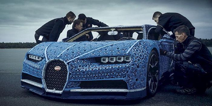 LEGO à construit une Bugatti Chiron avec 1 Million de pièces 10