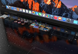 Concept de Touchbar pour Macbook Pro 2018 1