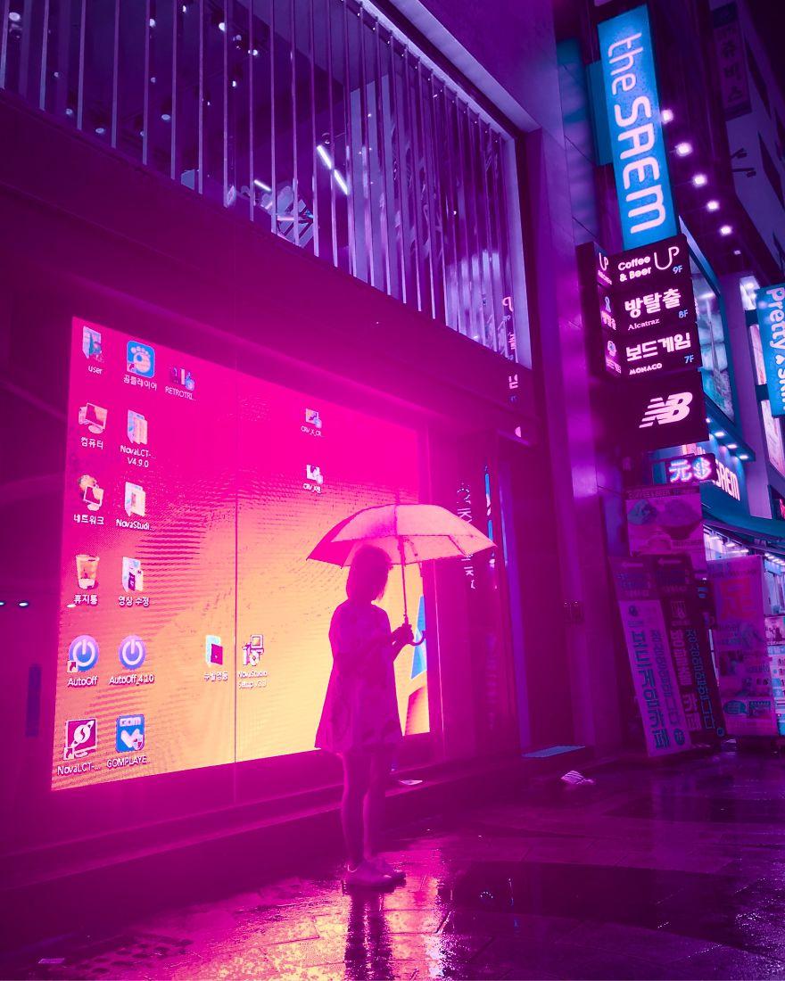 Comment retoucher ses photos sur mobile pour un effet Cyberpunk ? 11