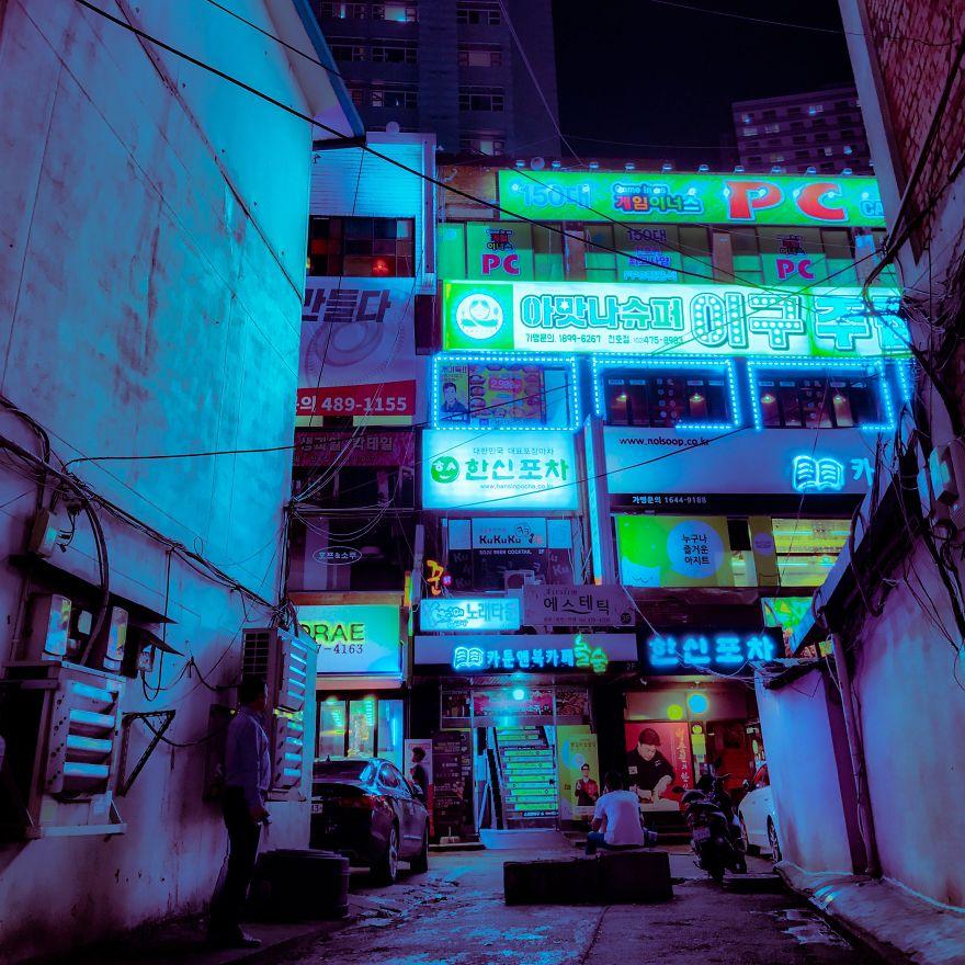 Comment retoucher ses photos sur mobile pour un effet Cyberpunk ? 17