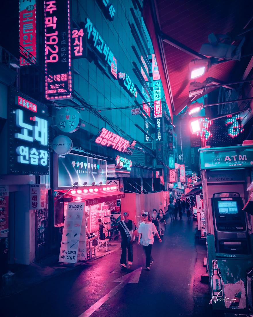 Comment retoucher ses photos sur mobile pour un effet Cyberpunk ? 2