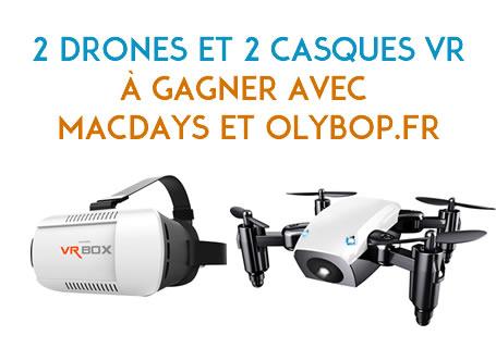 Concours - MacWay vous offre 2 Drones et 2 Casques VR pour ses MacDays ! 3