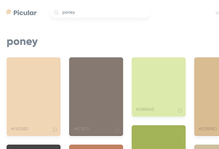 Outils pour chercher des couleurs par rapport à un mot clé facilement 2