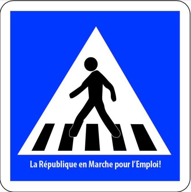 Best of détournements de Macron aux chômeurs - TraverseLaRueCommeManu 11