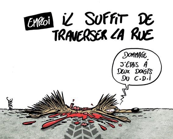 Best of détournements de Macron aux chômeurs - TraverseLaRueCommeManu 6