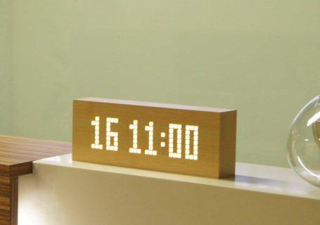 Click Message Clock Réveil 4