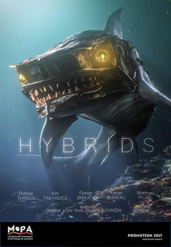 Court métrage fascinant où les animaux des océans sont mi-animaux mi-pollution 2