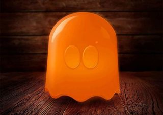 Lampe Pac-man Fantôme pour Halloween 1