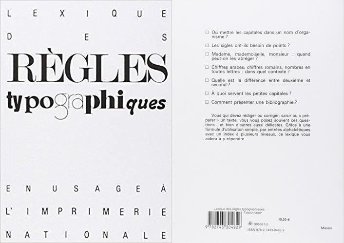 Lexique des règles typographiques 2