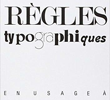 Lexique des règles typographiques 4